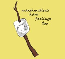 Marshmallows Have Feelings Too by SLRphotography