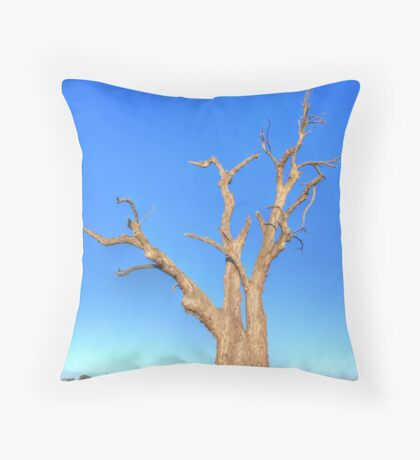 Red Gum with Character Throw Pillow