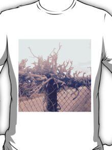 Abstract Rustic Wood T-Shirt