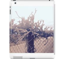 Abstract Rustic Wood iPad Case/Skin