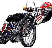 Kelly Moran, the wizard of balance, speedway by GregPics