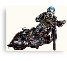 Chris Holder, Australian speedway, 2010 British Grand Prix winner Canvas Print