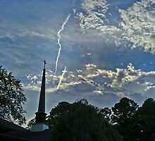 Sky over Carmel by Bonnie T.  Barry
