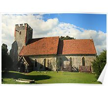 Norton - The Church In The Orchard Poster
