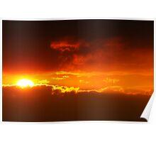 Hot Sunset Poster