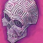 Revenge of the Scrimshaw Skull by rawjawbone