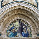 Florence Cathedral Architectural Detail 2 by Trish Meyer