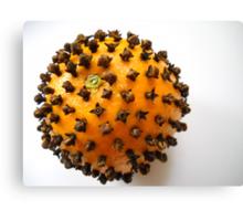 Fragrant orange. Canvas Print