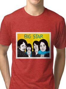 Big Star Classic Rock Pop Folk Art Tri-blend T-Shirt