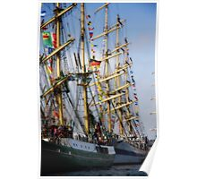I dream of a Tall Ship Poster