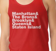 Five Boroughs ~ New York City Tank Top