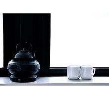 Tea for Two/Tone on Tone Photographic Print