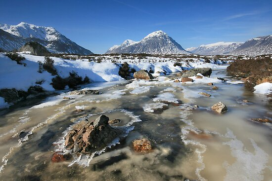 Scotland: Rannoch Winter by Angie Latham