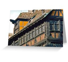 Maison Kammerzell Greeting Card