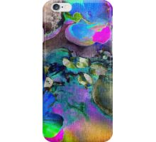 Pond in Psychedelic Colours iPhone Case/Skin
