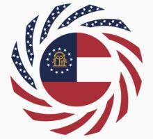 Georgian Murican Patriot Flag Series Kids Clothes