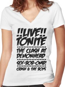 Toronto Gig Poster Women's Fitted V-Neck T-Shirt