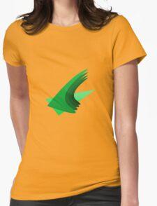 Green Cascade Womens Fitted T-Shirt