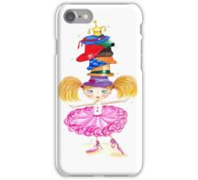 Girls love hats iPhone Case/Skin
