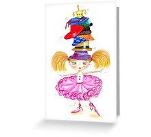 Girls love hats Greeting Card