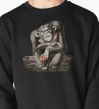 Angry Chimp Pullover