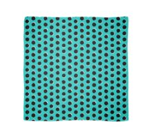 Eclipse polka dot in turquoise Scarf