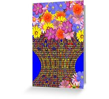 Bouquet For A Brighter Day Greeting Card