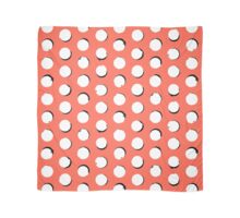 Eclipse polka dot in tropical pink Scarf
