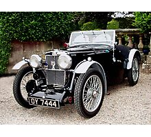 1933 MG J2 Photographic Print