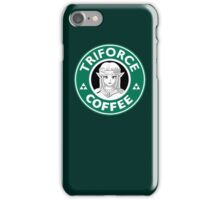 Triforce Coffee (Zelda) iPhone Case/Skin