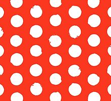 Classic red and white polka dots by tukkki