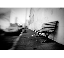 sit here Photographic Print