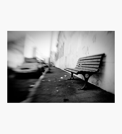 sit here Photographic Print