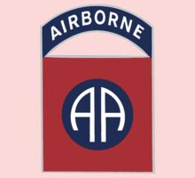 Logo of the Eighty-Second Airborne! One Piece - Long Sleeve