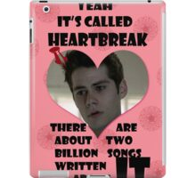 Happy Wolflantine [Stiles Stilinski] iPad Case/Skin