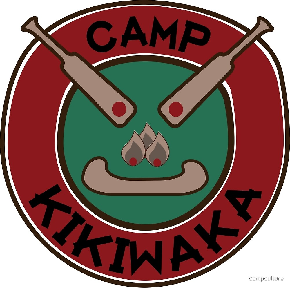 Quot Camp Kikiwaka Quot By Campculture Redbubble