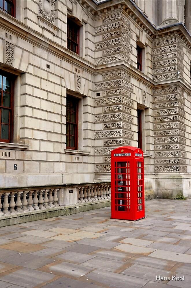 Telephone Box by Hans Kool