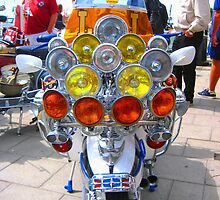 Classic Mod scooter in Brighton.... by pboddy