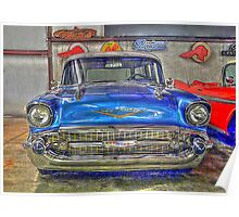 Chevy Nomad Wagon in HDR Poster