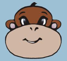 Monkey Face Baby Tee