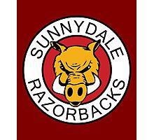 Sunnydale Razorbacks Classic Logo Photographic Print