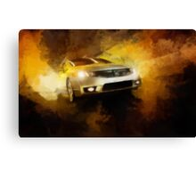 Fast Car 3 Canvas Print