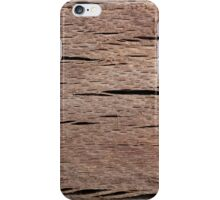 A Macro Photo of Wood Texture iPhone Case/Skin
