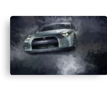 Fast Car Canvas Print