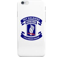 Insignia of the 173rd Special Forces Airborne Brigade! iPhone Case/Skin