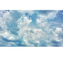This is within my reach, it is in the clouds, my dreams Photographic Print