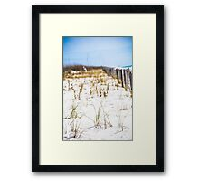 Beach Breeze  Framed Print