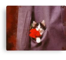 In his pocket Canvas Print