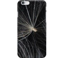 macro photo of thistle seed  iPhone Case/Skin