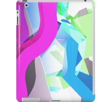 3D Geometric 1980s Inspired Piece iPad Case/Skin